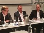 Navistar CEO Troy Clarke, VW Truck CEO Andreas Renschler, and Navistar