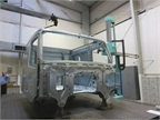 One room is devoted to checking random cabs for tolerances, fit and