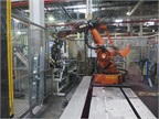 More than 70 robots are used for subassembly and spot welding work.