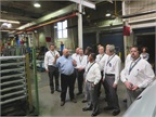 Road Team captains tour Volvo s NRV plant in January 2014.