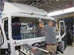 Assembling cab interiors