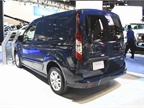 The short-wheelbase Transit Connect has a 38.3-foot curb-to-curb