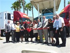 At the ribbon-cutting ceremony in Colton, Calif. on June 11, C.R.