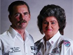 Prime drivers Cliff and Wanda Humphries. Prime uses its experienced