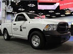 Ram 1500, complete with Truck of the Year graphics. Photo: Lauren