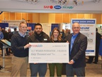 SAF-Holland presented a check to the Wyakin Foundation and announced