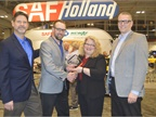 SAF Holland was honored for its ELI-te fifth wheel lock indicator.