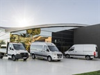 The third-generation Mercedes-Benz Sprinter will be offered in more