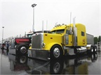 Trucks still gleamed in the rain on Day 1 of SuperRigs. Photo: Deborah