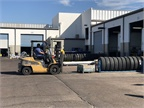 One station required a techncian to demonstrate forklift driving