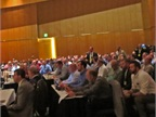 A session on the technician shortage was very well attended. Photo: