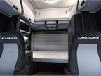 New Cascadia 72 Raised Roof Sleeper Cab interior shown with standard