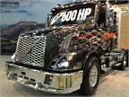 The new Volvo VNX with D16 engine at MATS.