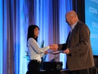 Thi Dao, executive editor of Government Fleet magazine, presents Top