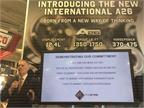 Navistar president Bill Kozek prepares to unveil International s new
