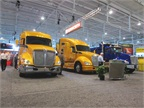 Kenworth s booth at TMC.