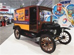 Total Lubricants USA showcased a bit of its history at its TMC booth.