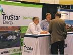 TruStar Energy s booth.