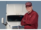 A Con-way Truckload owner-operator in 2012. Photo: Paul Hartley