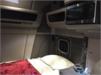 The single-bunk model offers plenty of airy space for drivers who
