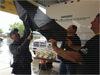 SuperRigs organizers battled rainy weather and a glitch with the