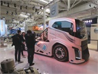 Volvo s Iron Knight is regarded as the world s fastest truck, having