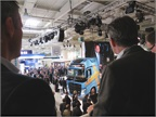 Media types from the world over found standing room only--even with