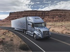 Volvo Trucks North America revealed its new Volvo VNL series highway tractor, available in several configurations, including an all-new, 70-inch sleeper. Photo: Volvo Trucks