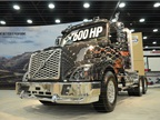 At the core of the new VNX heavy-haul and vocational tractor is a Volvo integrated powertrain featuring a newly introduced D16 engine with 600 horsepower, 2,050 pounds-feet of torque and I-Shift automated manual transmission.