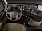 The VNX features Volvo's full-size daycab equipped with the