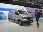 Volkswagen rolled out its new full-size Crafter cargo van. Designed