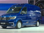 VW showed a prototype electric-drive version of its new Crafter