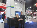 Jon Morrison, president, Americas, for Wabco, accepts the HDT Top 20