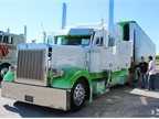 Paul Rissler s 1996 Peterbilt 379 and 2008 Great Dane - Risslerbilt.
