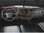 The truck-style dash looks traditional, but it s loaded with the