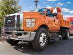 Ford showcased a 2016 F-650 dump truck at HDTX in Phoenix. Fleet