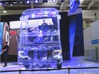 ZF fabricated a plastic see-through truck for a virtual-reality demo