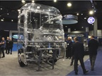 ZF demonstrated its latest technologies with virtual reality in this