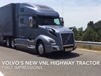First Impressions: Volvo's New VNL Highway Tractor [Video]