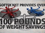 SOFTEK NXT Saves Over 100 lbs.