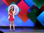Lindsay Lawler Performs National Anthem at 2013 TCA