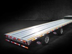 Utility Launches 4000AE Drop Deck Flatbed Trailer