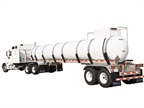 Tank Trailer Resists High Sulfuric Acid Concentrations
