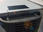 Carrier Transicold Solar Panel Keeps TRU Batteries Charged
