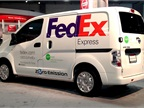 Nissan and FedEx Express Put All-Electric e-NV200 to Work in Collaborative U.S. Test