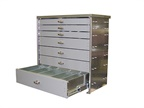 Heavy-Duty Steel Drawers are Custom Made