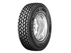 Drive Tire Has Traction for Severe Service