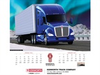 Kenworth Features Heavy, Medium-Duty Truck Photos in 2016 Calendar