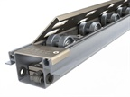 Retract-A-Roll Pneumatic Roller Track System Improves Cargo Handling