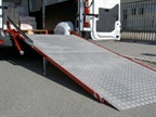 Loading Ramp Swivels Internally and Externally